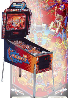 Fastbreak pinball